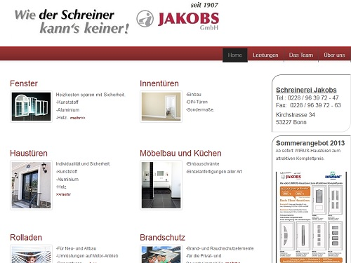 Schreinerei Jakobs Bonn