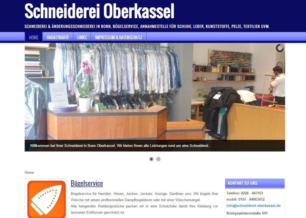 Änderungsschneiderei Bonn Oberkassel