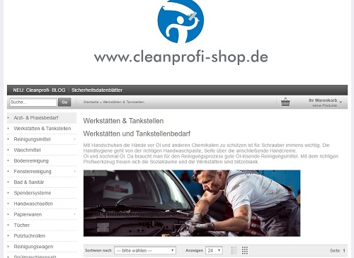 Cleanprofi Onlineshop