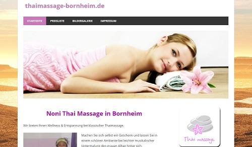 Thaimassage Noni Bornheim